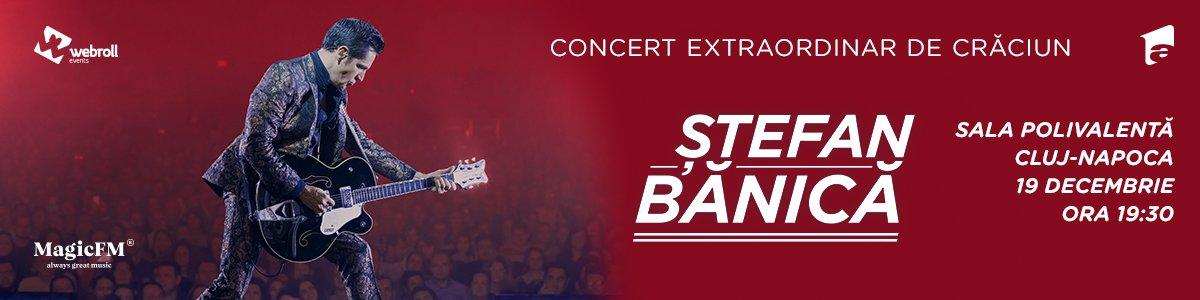 Concert Extraordinar de Craciun - Stefan Banica
