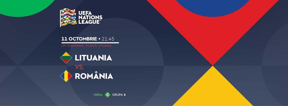 bilete Lituania - Romania