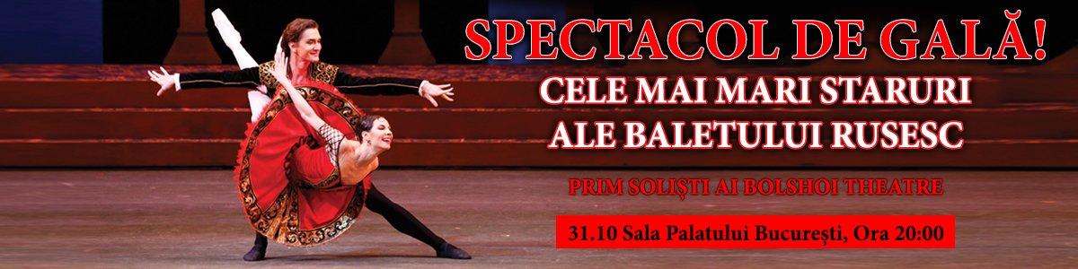 Cele mai mari staruri ale baletului rusesc de la Bolshoi Theatre