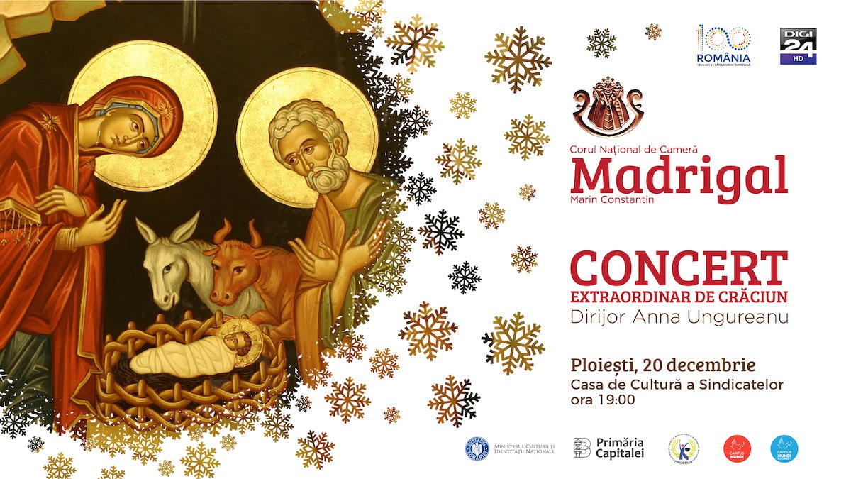 Concert extraordinar de Craciun Corul National de Camera Madrigal - Marin Constantin - Ploiesti
