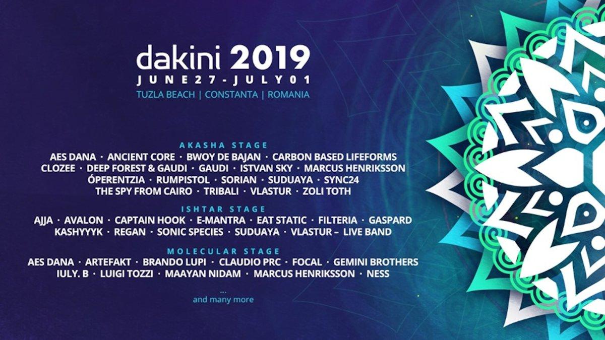 bilete Dakini Festival