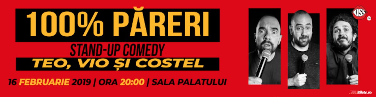 Stand-up comedy - Teo, Vio si Costel