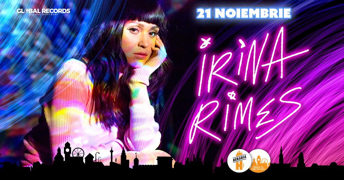 Irina Rimes X Concert la Beraria H