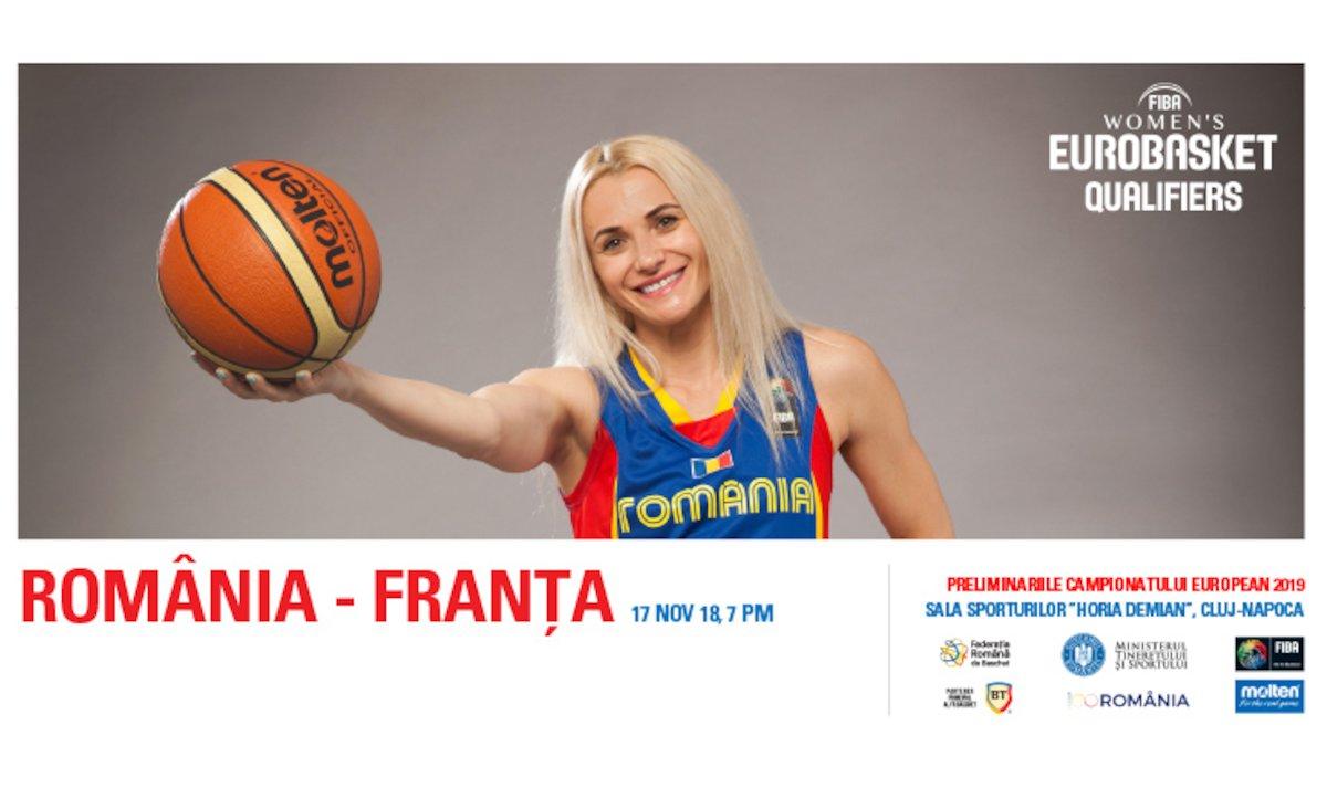 Romania - Franta - Baschet feminin