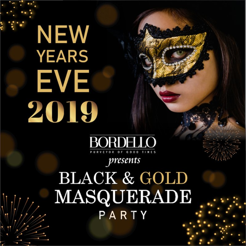 Bordello presents Black & Gold Masquerade