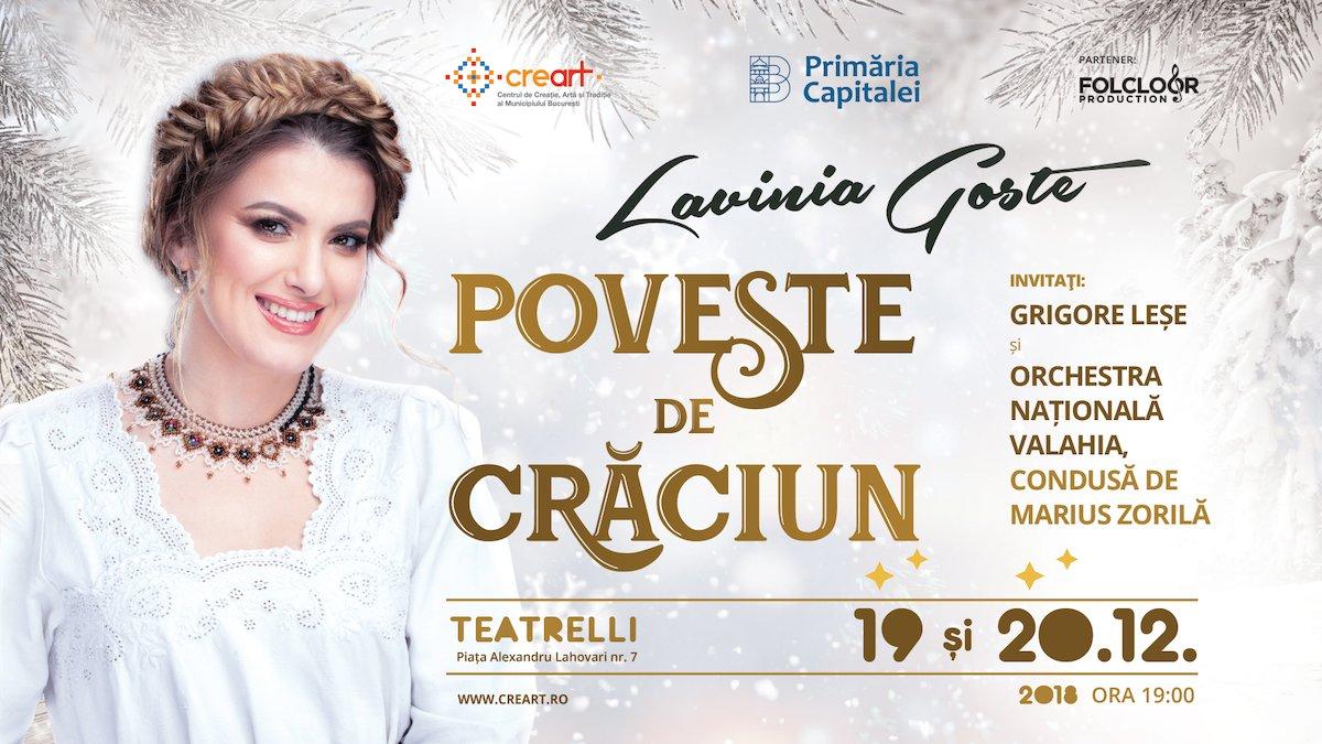 bilete Concert Lavinia Goste – Poveste de Craciun