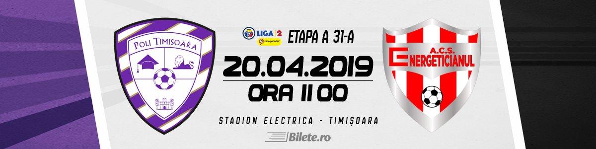bilete Poli Timisoara - ACS Energeticianul