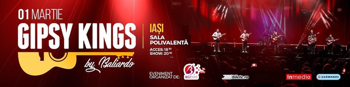 bilete Gipsy Kings in Romania