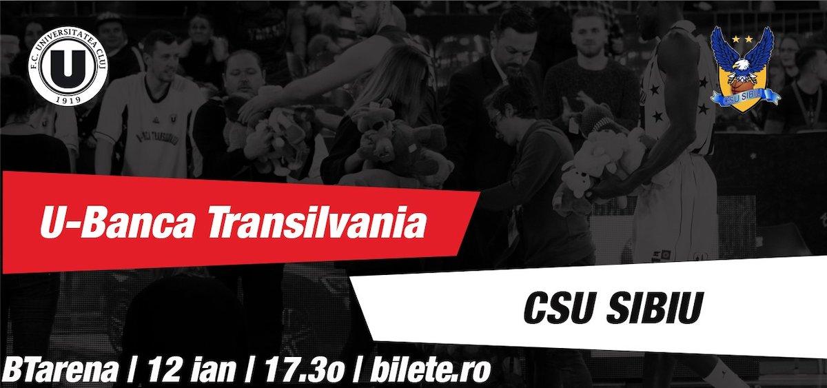U-Banca Transilvania - CSU Sibiu