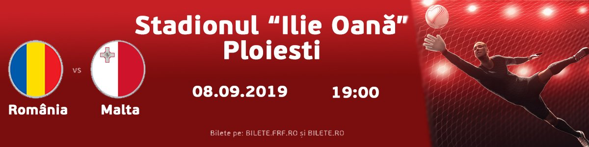 bilete Romania - Malta