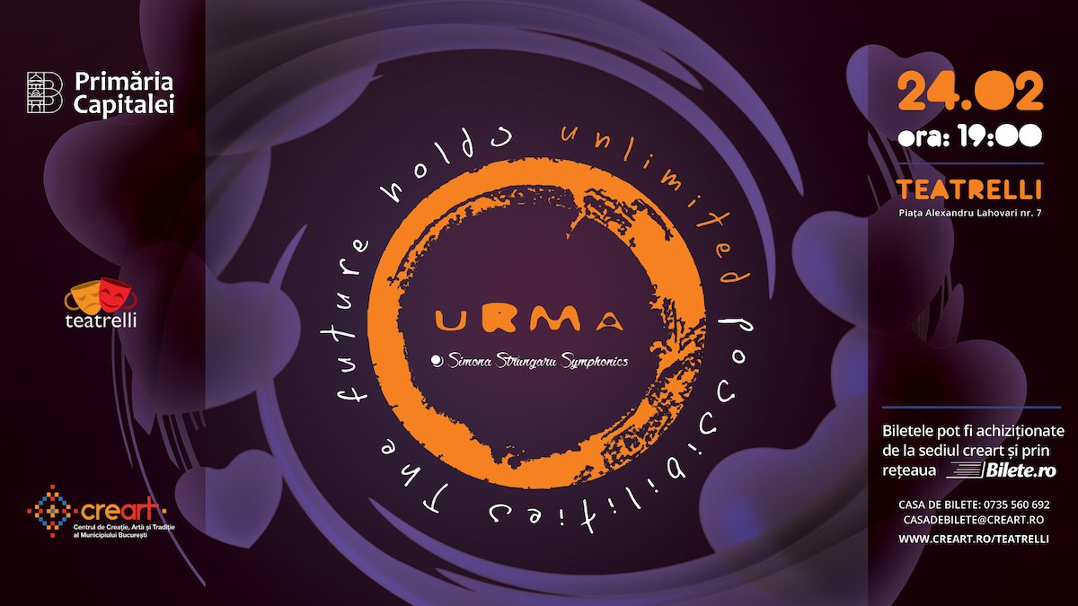 bilete Concert URMA & Simona Strungaru Symphonics