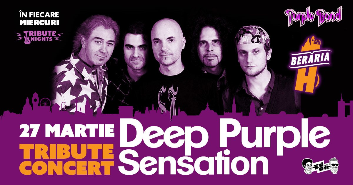 bilete Deep Purple Sensation // Tribute Show by Purple Band