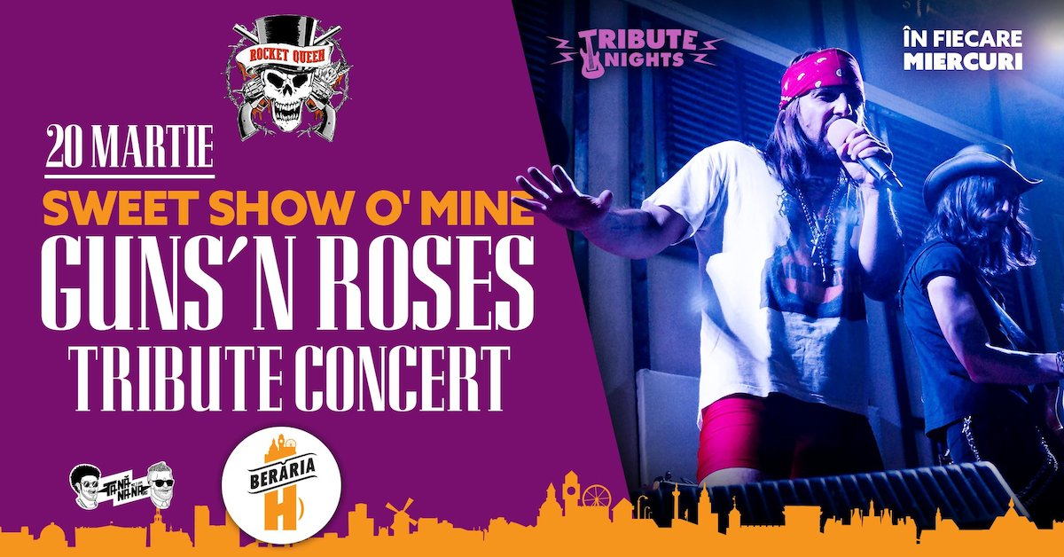 Sweet Show O' Mine // Guns N' Roses Tribute by Rocket Queen