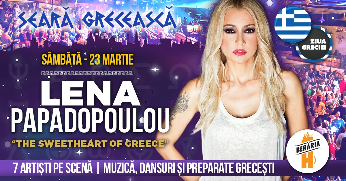bilete Concert Lena Papadopoulou - The Sweetheart of Greece