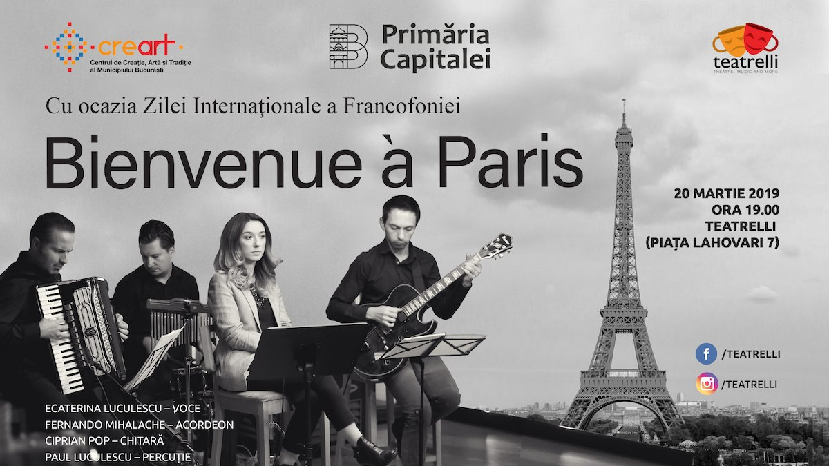 Concert Bienvenue a Paris
