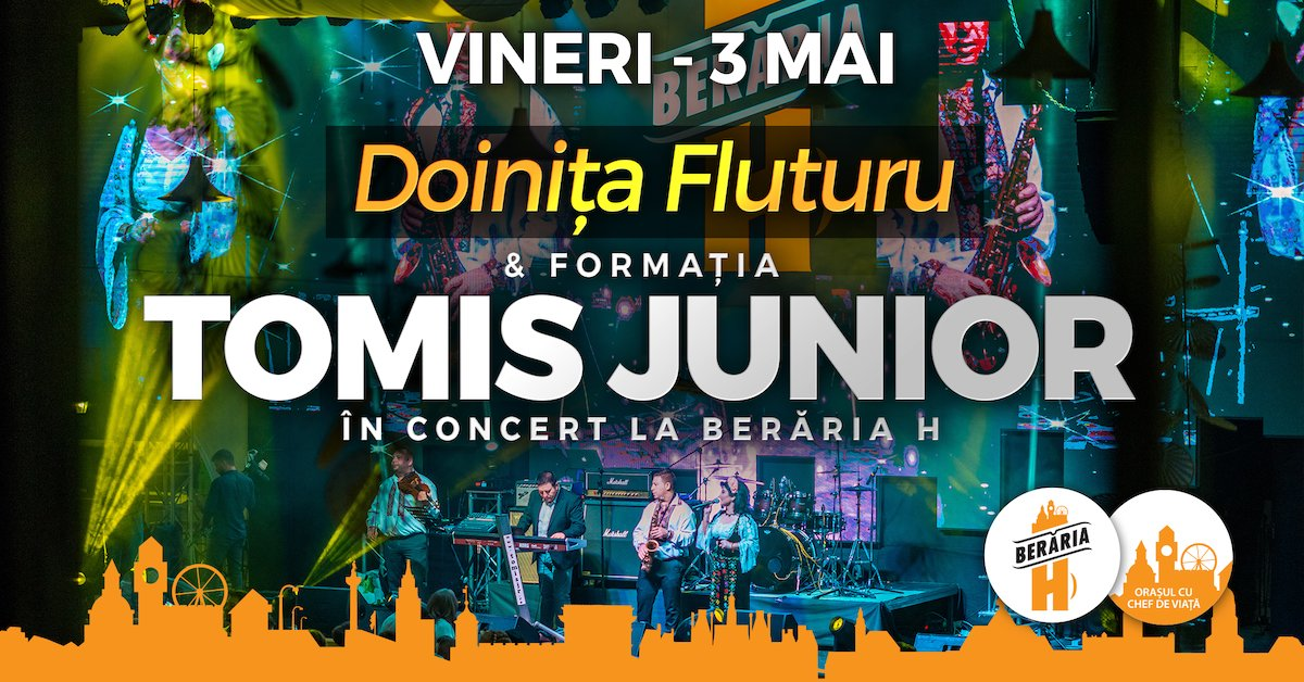 Formatia TOMIS JUNIOR si Doinita Fluturu in concert
