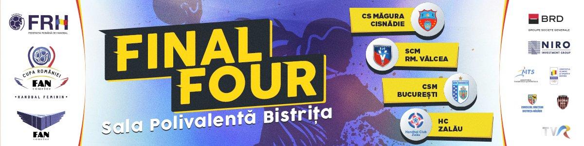 bilete FINAL 4 Cupa Romaniei FAN Courier - Handbal Feminin