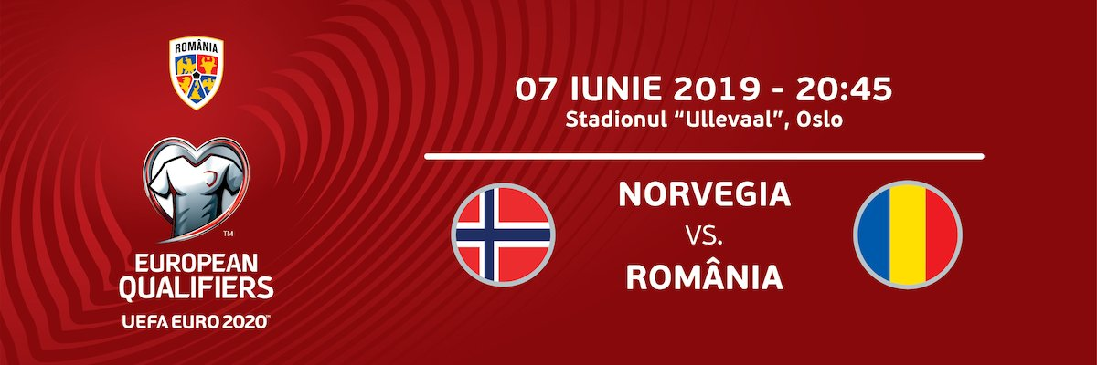 bilete Norvegia - Romania - Euro2020