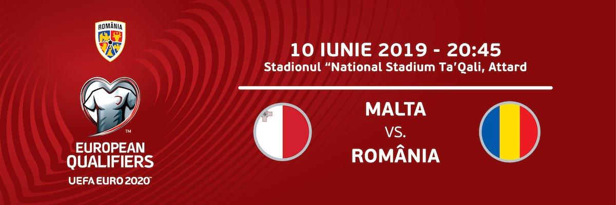 Malta - Romania - Euro2020