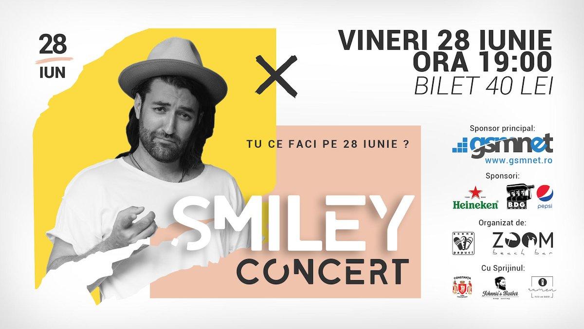bilete Concert Smiley