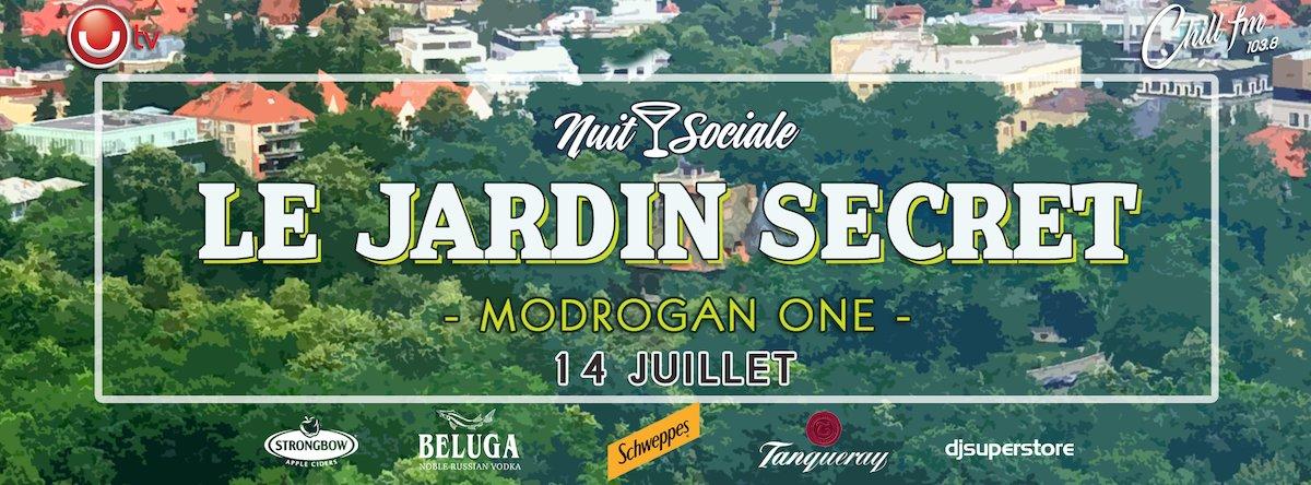 bilete Nuit Sociale - Le Jardin Secret