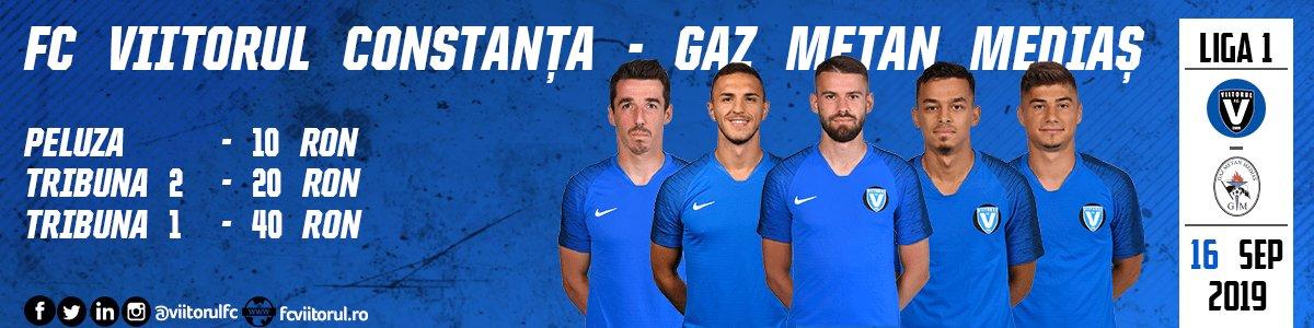 bilete FC VIITORUL - CS GAZ METAN Mediaș