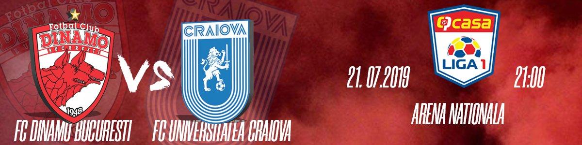bilete FC Dinamo Bucuresti - Universitatea Craiova