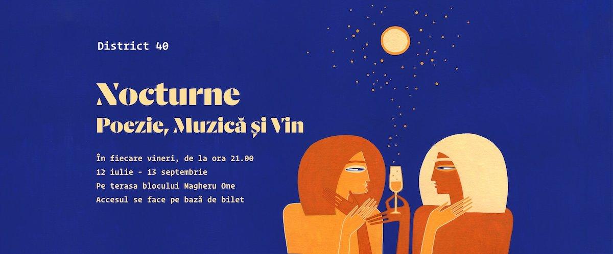 bilete Nocturne de poezie contemporană