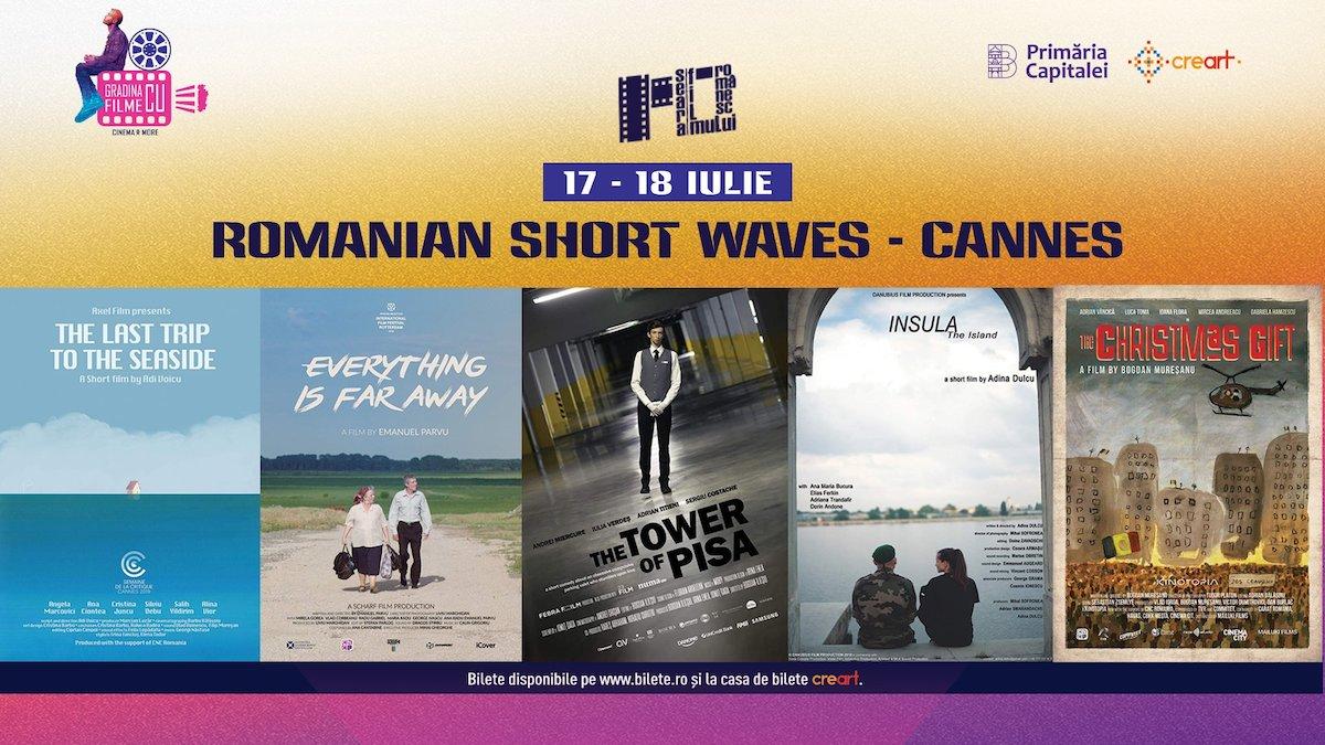 bilete SFR: Romanian Short Waves – Cannes la Gradina cu Filme