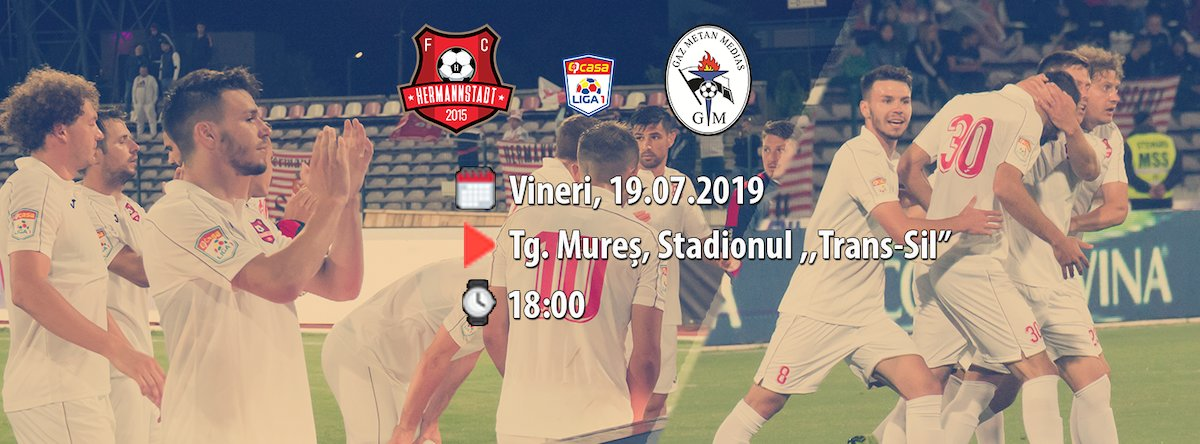 bilete FC Hermannstadt - Gaz Metan Medias