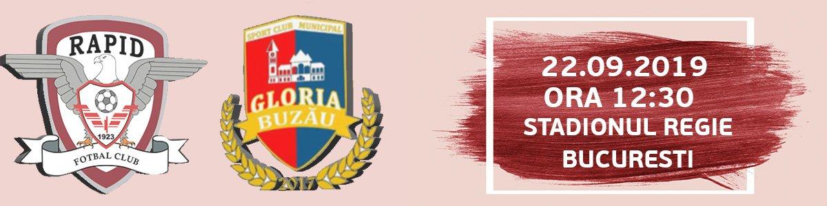 bilete FC Rapid Bucuresti - Gloria Buzau