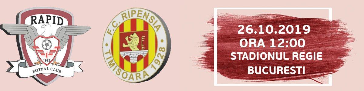 bilete FC Rapid Bucuresti - Ripensia Timisoara