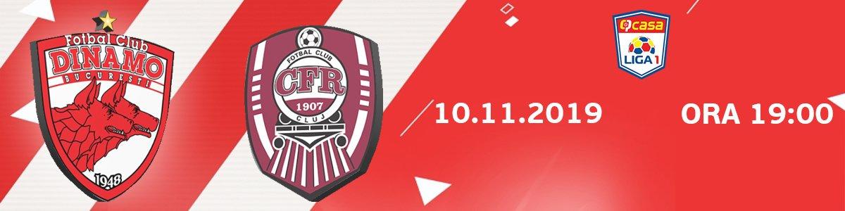 bilete FC Dinamo Bucuresti - CFR 1907 Cluj - Casa Liga 1