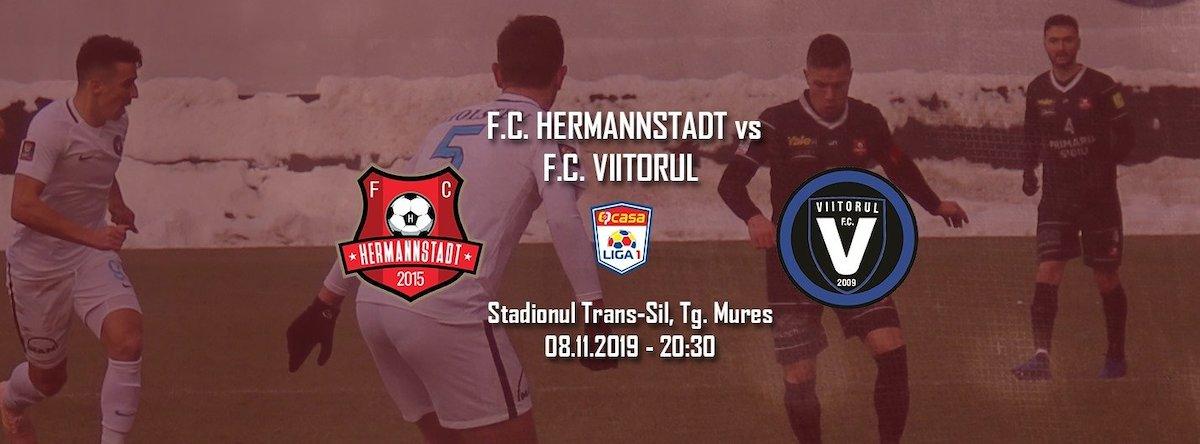 bilete FC Hermannstadt - FC Viitorul - Casa Liga 1