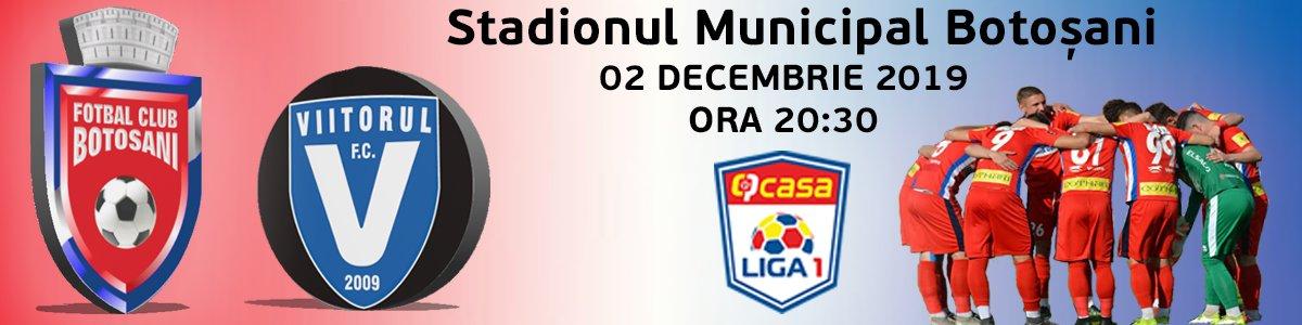 bilete FC Botosani - FC Viitorul Constanța - CASA Liga 1