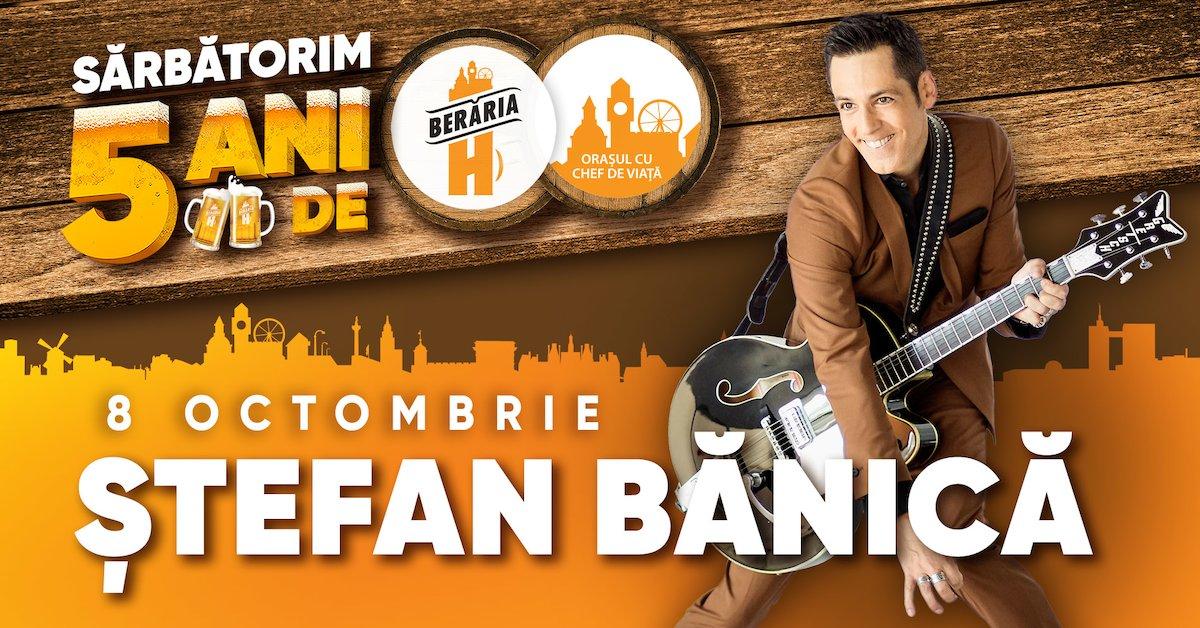 bilete Concert Stefan Banica