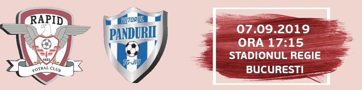 bilete Rapid Bucureşti – ACS Viitorul Tg. Jiu