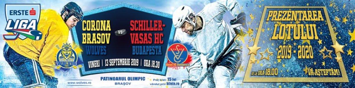 bilete CSM Corona Brasov - Schiller-Vasas HC