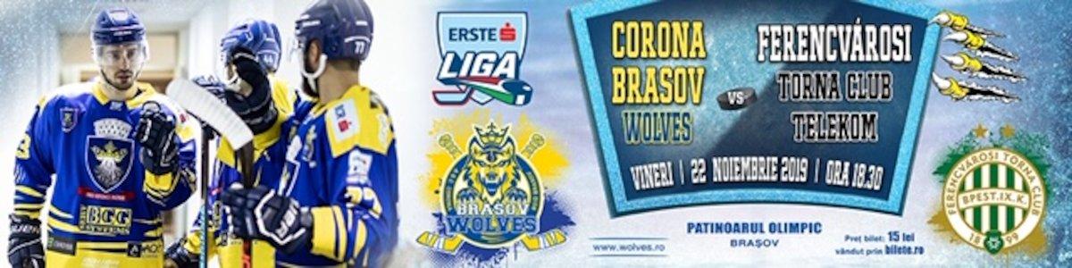 bilete CSM Corona Brasov Wolves - FTC-Telekom