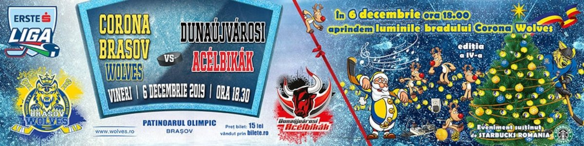bilete Corona Brasov Wolves - Dunaujvarosi Acelbikak