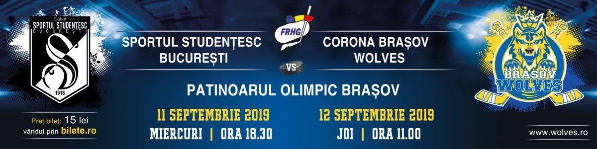 bilete Sportul Studentesc Bucuresti - CSM Corona Brasov Wolves