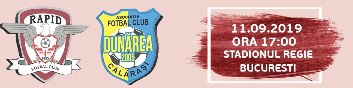 bilete FC Rapid Bucuresti - Dunarea Calarasi - Cupa Romaniei