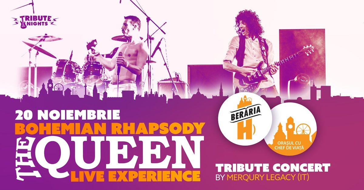 bilete Bohemian Rhapsody - QUEEN Tribute Show by Merqury Legacy [Italy]