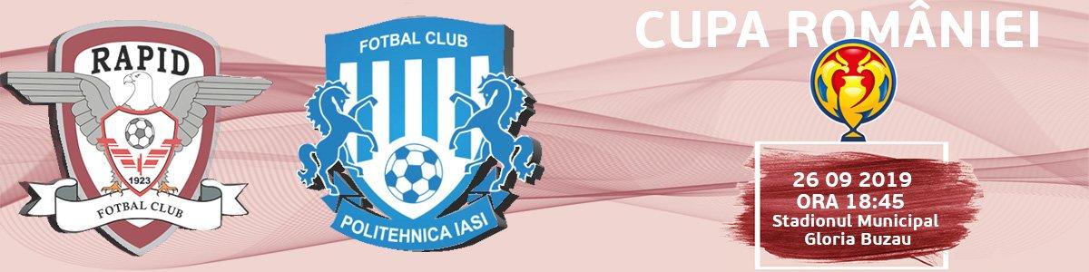bilete FC Rapid - Politehnica Iasi - Cupa Romaniei