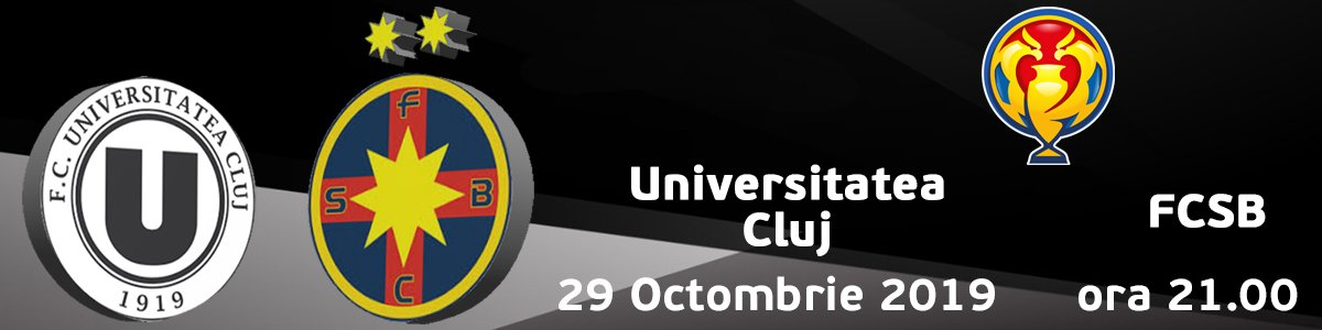 bilete FC Universitatea Cluj v FCSB
