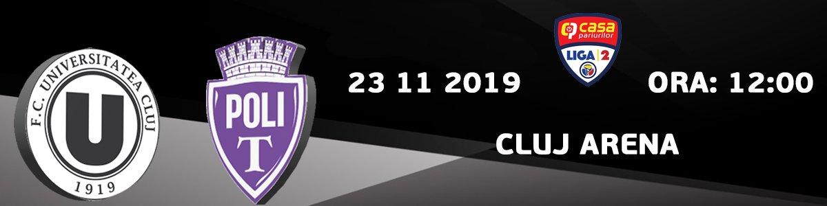 bilete FC Universitatea Cluj - ASU Politehnica Timisoara