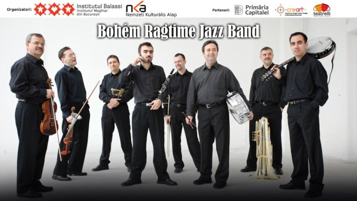 bilete Bohem Ragtime Jazz Band