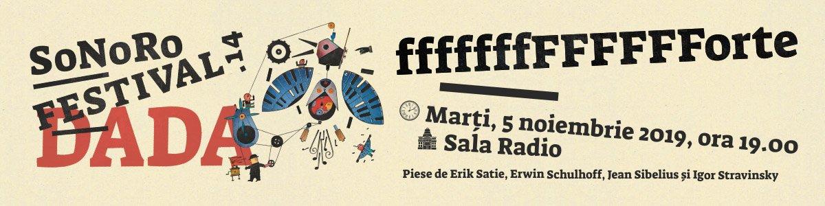 bilete Festivalul SONORO