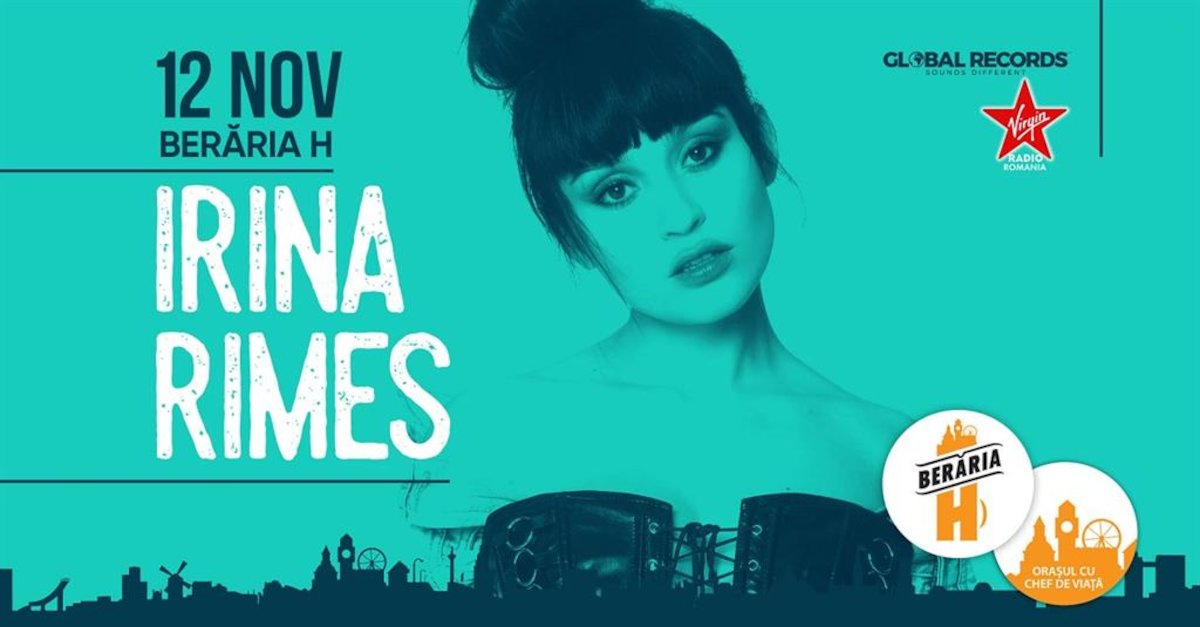 bilete Concert Irina Rimes