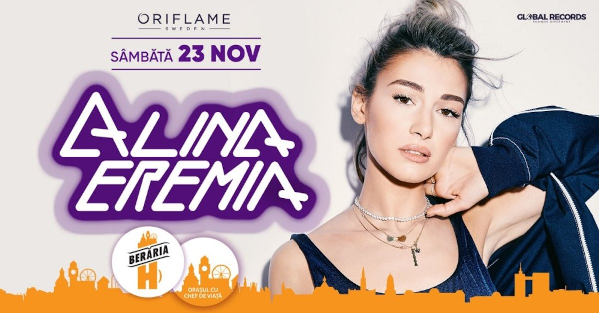bilete Concert Alina Eremia